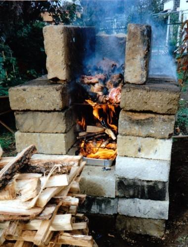 fossa di cremazione,auschwitz,esperimenti di combustione,incenerimento in forno crematorio campale,olocausto,truffa,mattogno