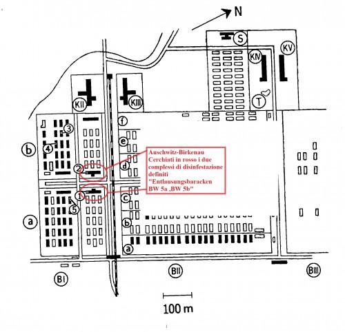 auschwitz,Entlausungsbaracken BW 5a +BW 5b,impianti disinfestazione,sauna.jpg