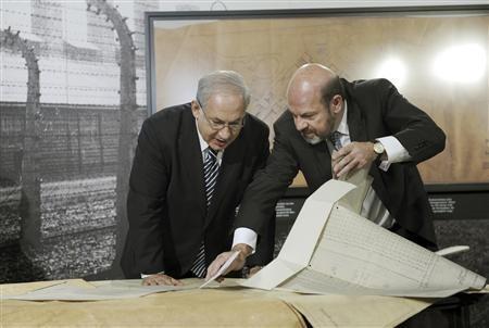 Benjamin Netanyahu,Ralf Georg Reuth,BERLIN , Thu Aug 27, 2009 ,.jpg